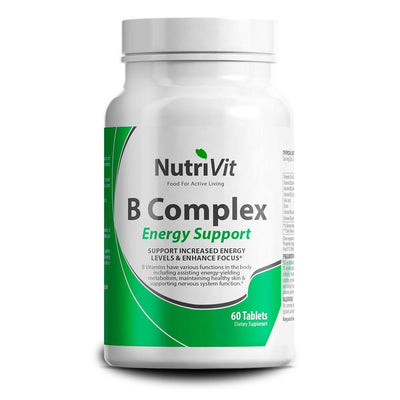 Vitamin B NutriVit B Complex [60 Tabs] - Chrome Supplements and Accessories