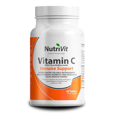 Vitamin C NutriVit Vitamin C [60 Caps] - Chrome Supplements and Accessories
