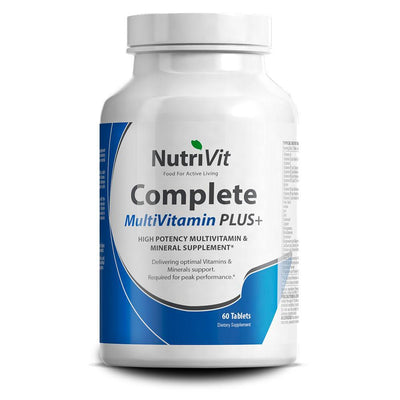 Vitamins & Minerals NutriVit Multi Vitamin Plus [60 Tabs] - Chrome Supplements and Accessories