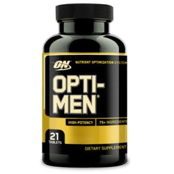 Vitamins & Minerals Optimum Nutrition Opti-Men [21 Tabs] - Chrome Supplements and Accessories