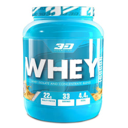 3D NUTRITION WHEY ISOCON [1KG]