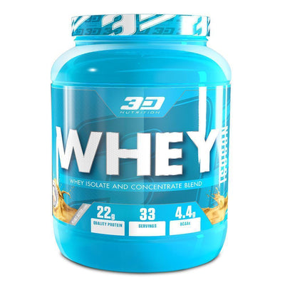Whey Blend 3D Nutrition Whey Isocon [1kg] - Chrome Supplements and Accessories
