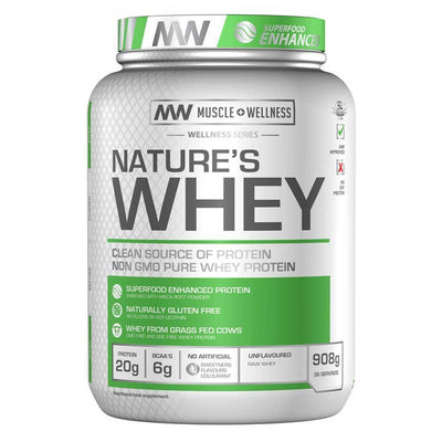 Whey Blend Muscle Wellness Natures Whey [900g] - Chrome Supplements and Accessories