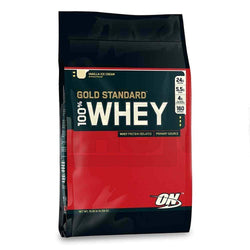 Whey Blend Optimum Nutrition Gold Standard 100% Whey [4.5kg] - Chrome Supplements and Accessories