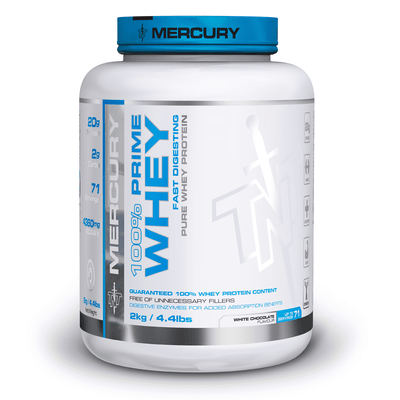 Whey Blend TNT 100% Prime Whey [2kg] - Chrome Supplements and Accessories