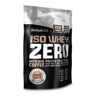 Whey Isolate BioTech USA Iso Whey Zero Caffe Latte [500g] - Chrome Supplements and Accessories