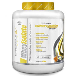 Whey Isolate Chronicle Nutrition Whey Isolate [1.5kg] - Chrome Supplements and Accessories