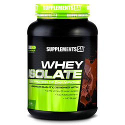 Whey Isolate Supplements SA Whey Isolate [1kg]