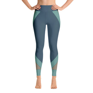 Patterned Abstract Workout Yoga Leggings