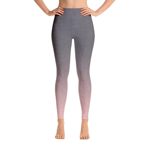 Patterned Ombre Yoga Leggings
