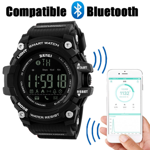 New SKMEI Brand Men's Smart Sport Watch Bluetooth