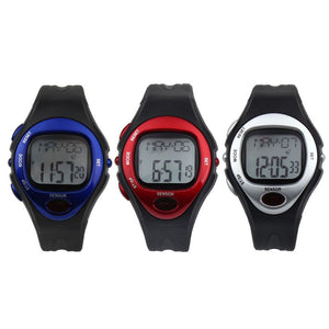 Fitness Healthy Digital LCD Heart Rate Watch
