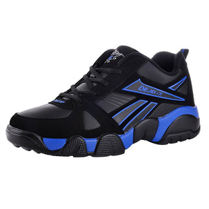 DELOCRD Black Running Shoes
