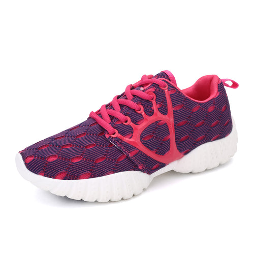 Running Mesh Breathable Female Sports Shoes