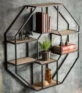 Hermione- Hexagonal shelf