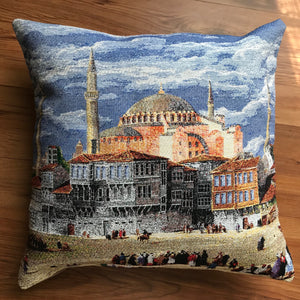 "Hagia Sophia cushion covers (pair) 16""x16"""