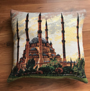 "Turkey-01 cushion covers  (pair) 16""x16"""