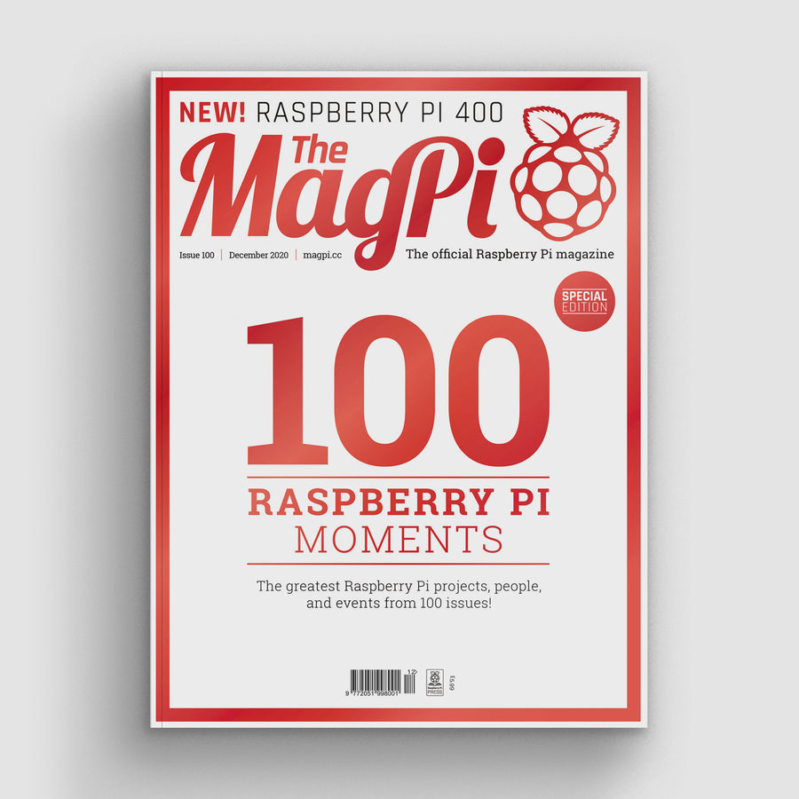 The MagPi magazine #100