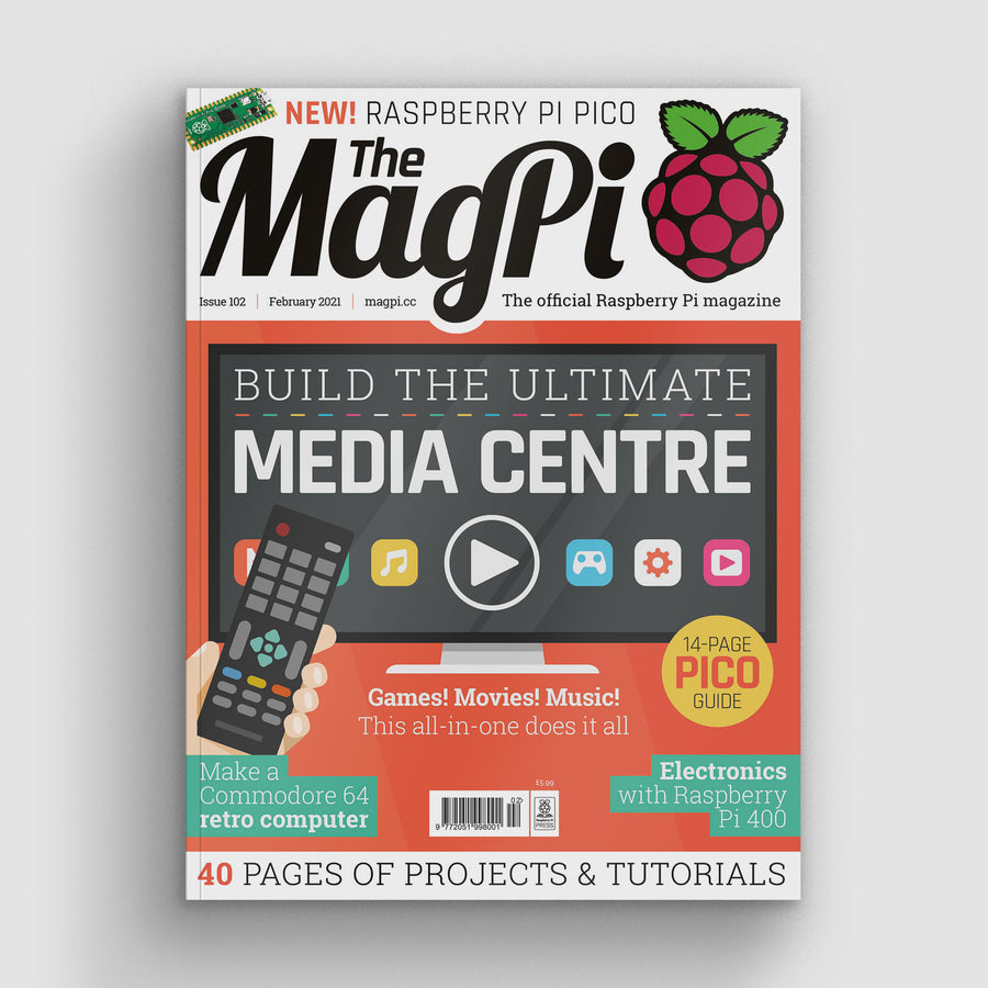 The MagPi magazine #102