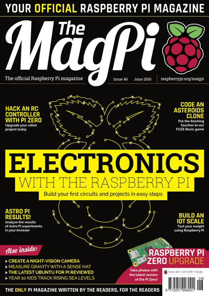 The MagPi magazine #46