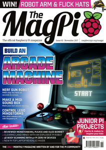 The MagPi magazine #63