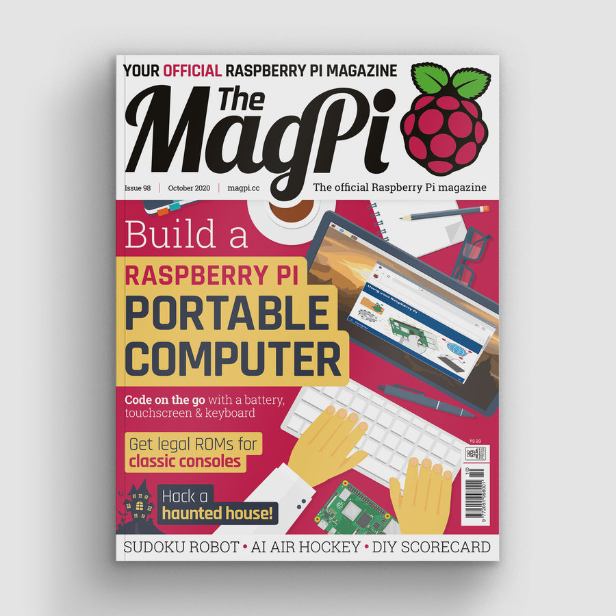 The MagPi magazine #98