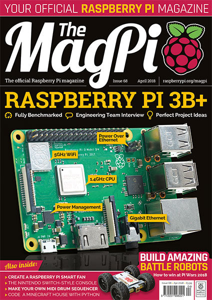 The MagPi magazine #68