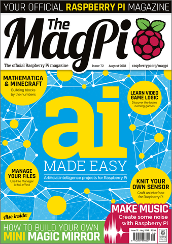 The MagPi magazine #72