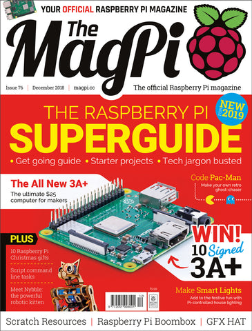 The MagPi magazine #76