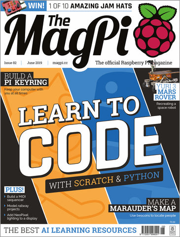 The MagPi magazine #82