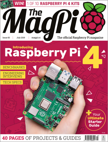 The MagPi magazine #83