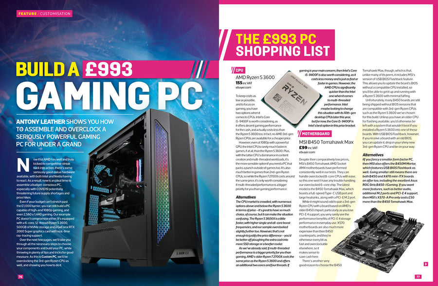 Custom PC magazine #201