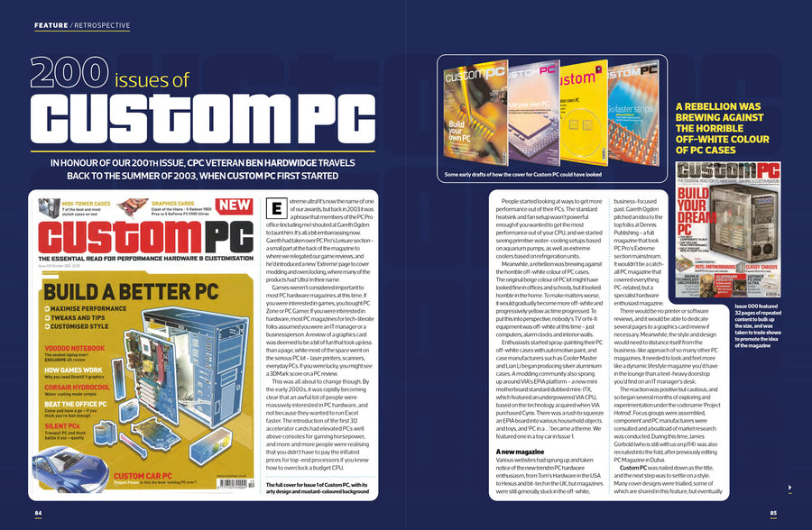 Custom PC magazine #200