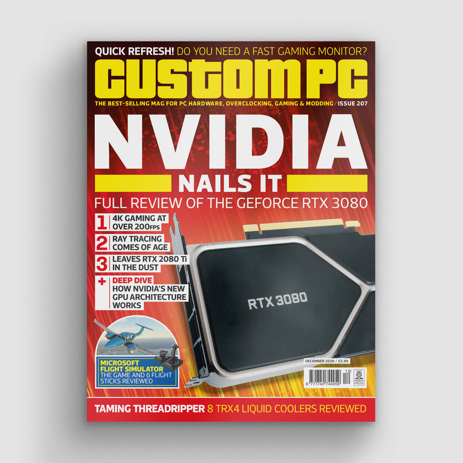 Custom PC magazine #207
