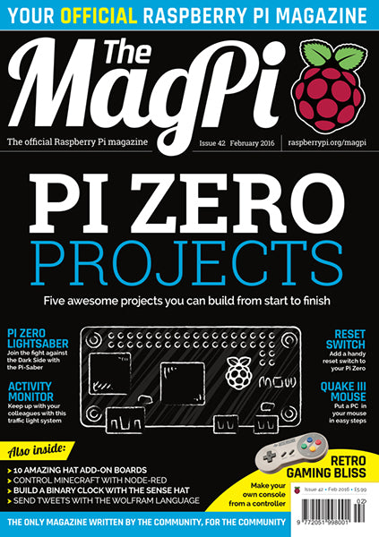 The MagPi magazine #42