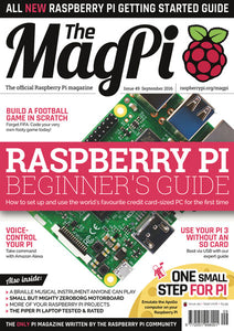 The MagPi magazine #49