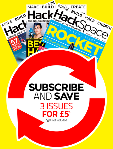 HackSpace magazine quarterly subscription (recurring)