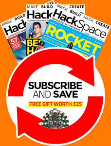 HackSpace magazine 12 month subscription (recurring)