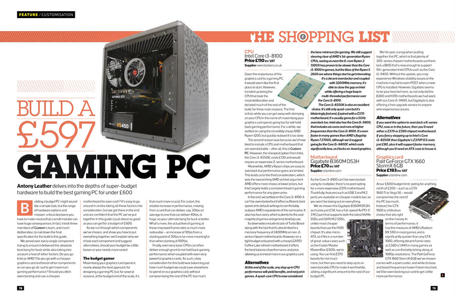 Custom PC magazine #191