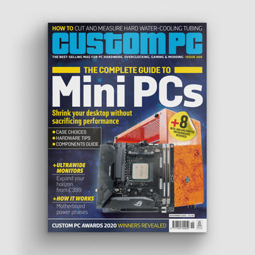 Custom PC magazine #206