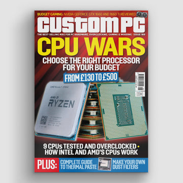 Custom PC magazine #189