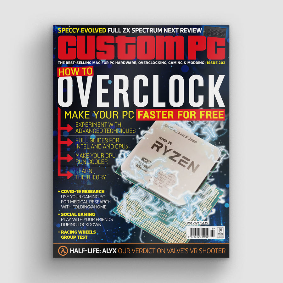 Custom PC magazine #202