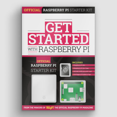 Get Started with Raspberry Pi - Includes Model 3A+