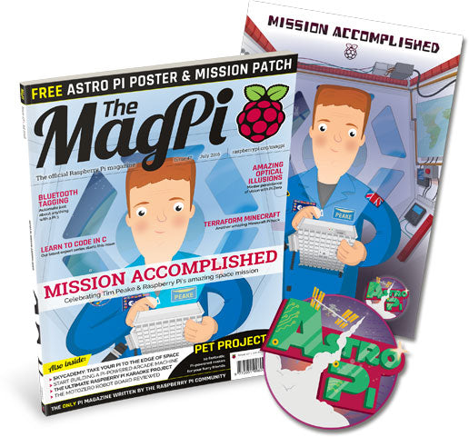 The MagPi magazine #47