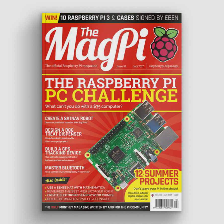 The MagPi magazine #59