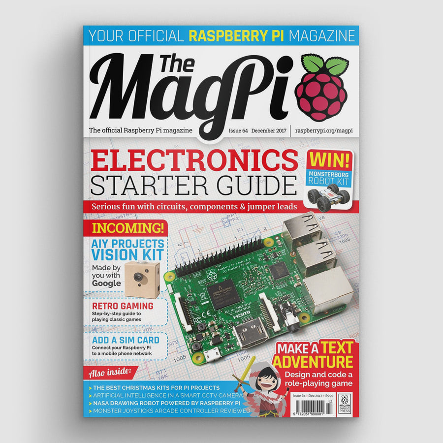 The MagPi magazine #64