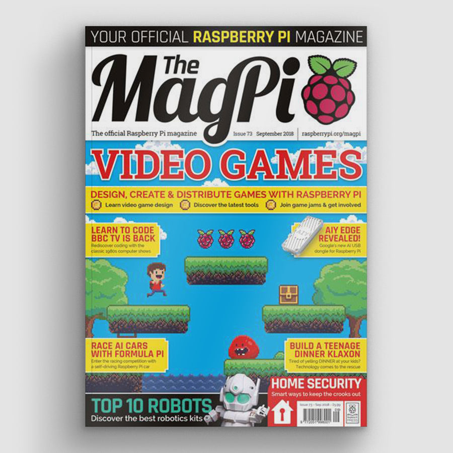 The MagPi magazine #73