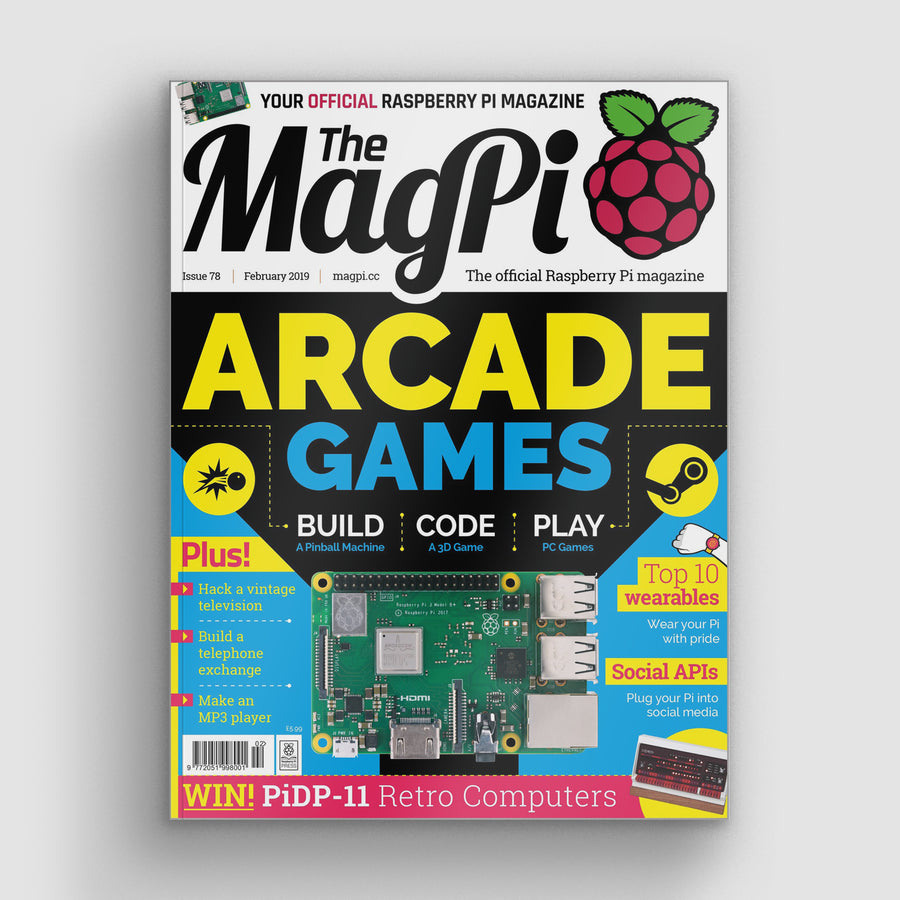The MagPi magazine #78