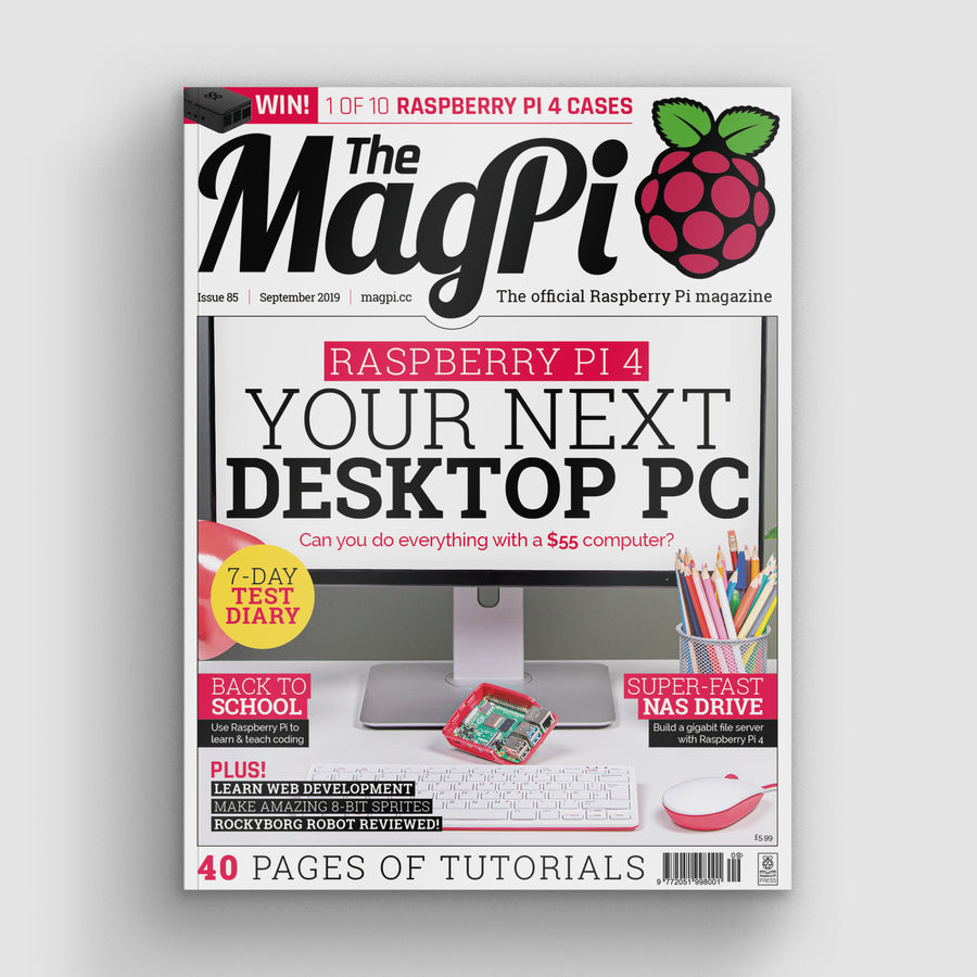 The MagPi magazine #85