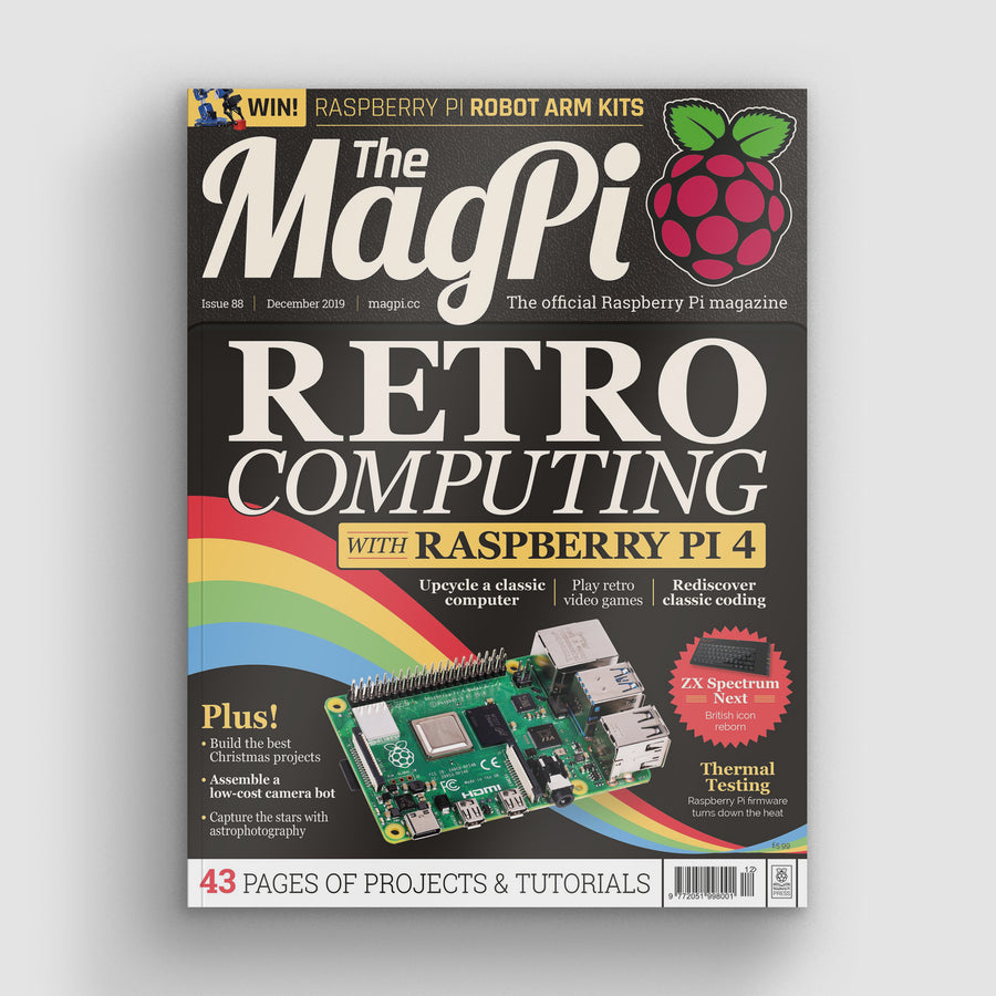 The MagPi magazine #88